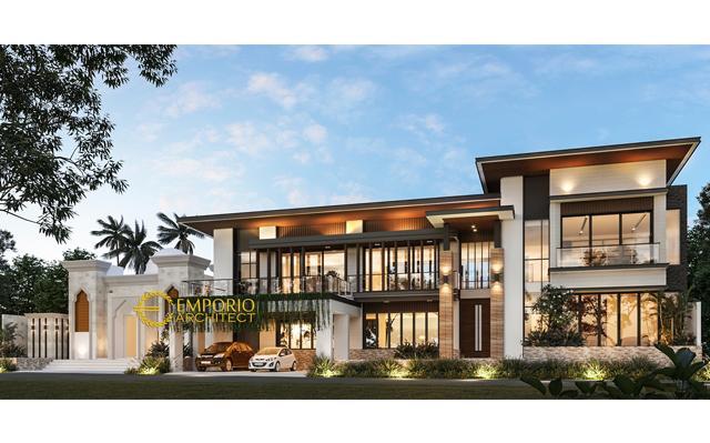 Mr. Fatah Modern House 2 Floors Design - Blora, Jawa Tengah