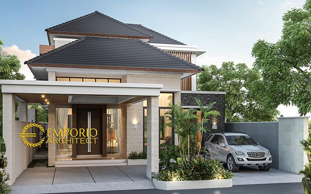Mrs. Sarah Modern House 2 Floors Design - Bogor