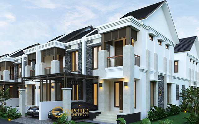 Desain Perumahan Villa Bali 2 Lantai Pakansari di  Bogor, Jawa Barat
