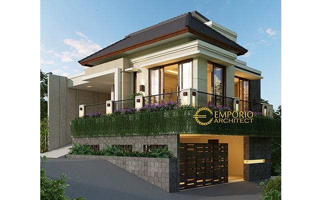 Desain Rumah Villa Bali 3 Lantai Bapak Ilham di  Bogor, Jawa Barat