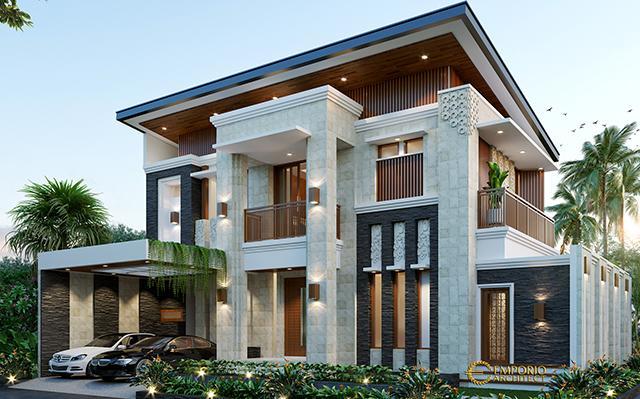 Desain Rumah Modern 3 Lantai Ibu Febby di  Bogor, Jawa Barat