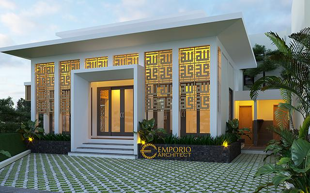 Desain Mushola Modern 1 Lantai Green Bamboo Terrace di  Bogor, Jawa Barat