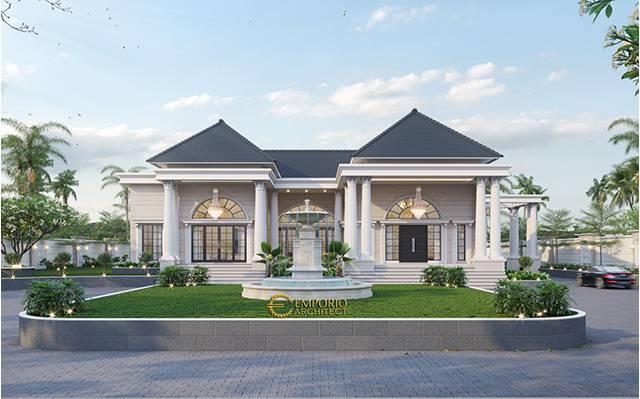 Mr. Human Classic House 1 Floor Design - Bondowoso, Jawa Timur