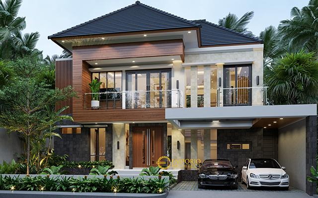 Mr. Yadi Modern House 2 Floors Design - Bontang, Kalimantan Timur