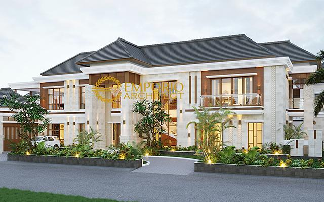 Mr. Dawood Villa Bali House 2 Floors Design - Brunei Darussalam
