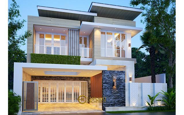 Desain Rumah Modern 2 Lantai Bapak Dwi Irawan di  Cirebon, Jawa Barat