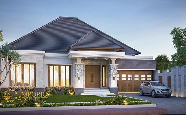 Desain Rumah Villa Bali 1 Lantai Bapak Dwi Irawan II di  Cirebon, Jawa Barat