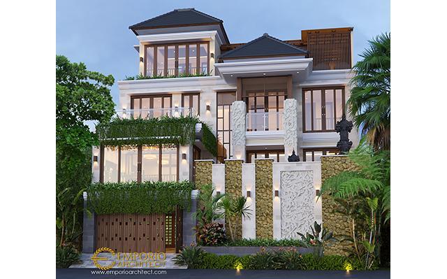 Desain Rumah Villa Bali 4 Lantai Bapak Gede di  Denpasar, Bali