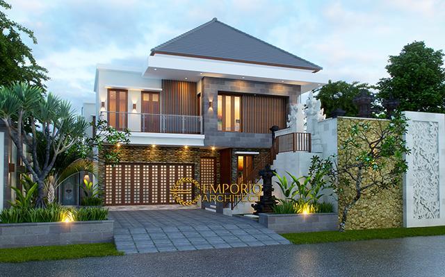 Mr. Nyoman Joni Villa Bali House 2 Floors Design - Denpasar, Bali