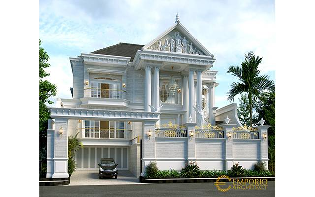 Mr. Herman Classic House 3 Floors Design - Denpasar, Bali