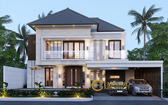 Desain Rumah Modern 2 Lantai Ibu Eta di  Denpasar, Bali