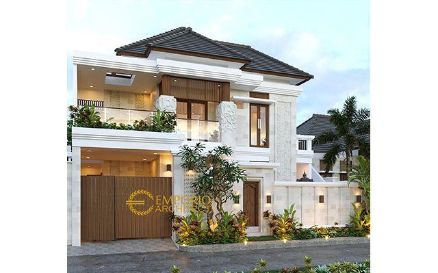 Mr. Ketut Berana Villa Bali House 2 Floors Design - Denpasar, Bali