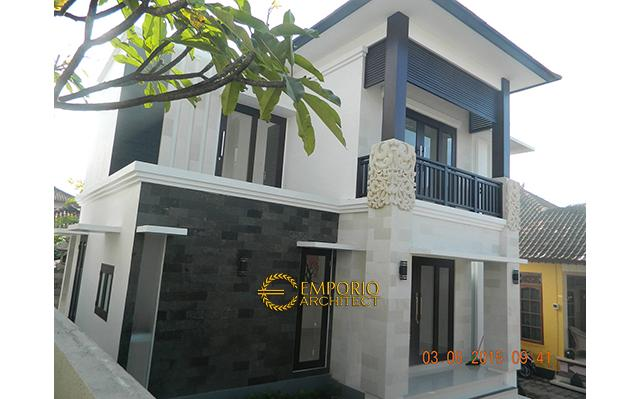 Construction Result of Mr. Agus Private House - Denpasar, Bali