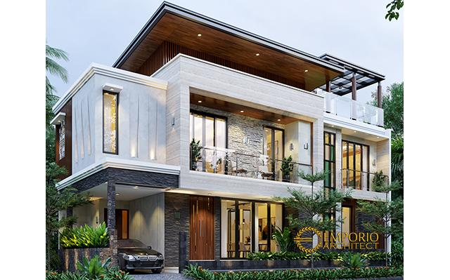 Mr. Hendra Modern House 2 Floors Design - Depok