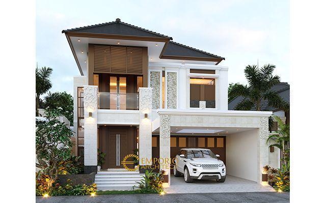 Mr. Farid Villa Bali House 2 Floors Design - Depok, Jawa Barat