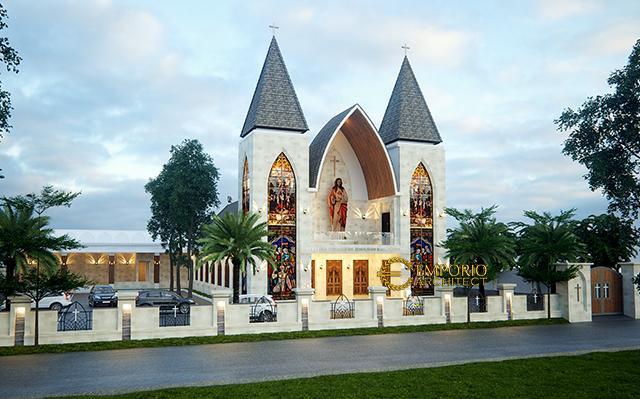 Desain Gereja Modern 1 Lantai Capela Curacao De Jesus di  Timor Leste