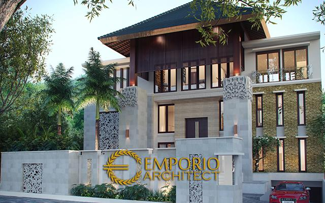 Desain Hotel Villa Style Villa Bali 5 Lantai Bapak Raymundus di  Ubud, Bali
