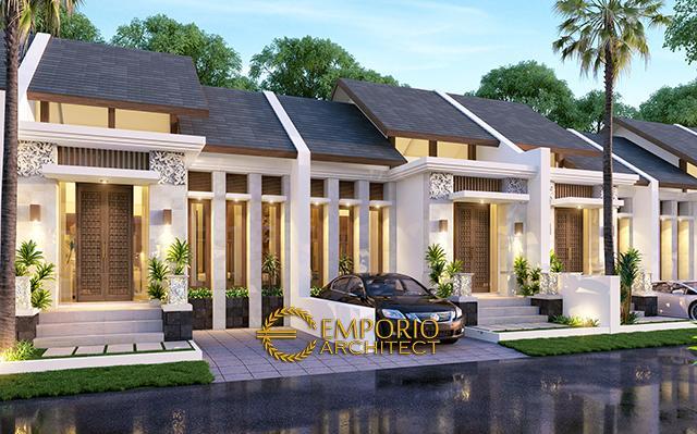 Desain Perumahan Villa Bali 1 Lantai Bapak Andrey di  Jakarta