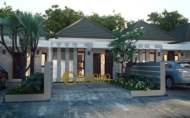 Desain Perumahan Villa Bali 1 Lantai Bapak Gusdek di  Tabanan, Bali