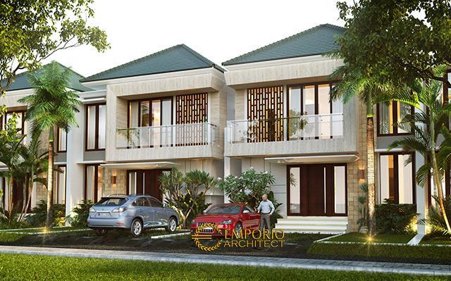 Desain Grand Mekarsari Residence Modern 2 Lantai di  Cibubur, Jakarta Timur