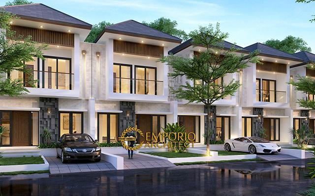 Desain Perumahan Modern 2 Lantai Green Bamboo Terrace di  Tajur, Bogor, Jawa Barat