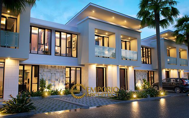 Desain Perumahan Modern 2 Lantai Urbana Jatiwaringin di  Jakarta