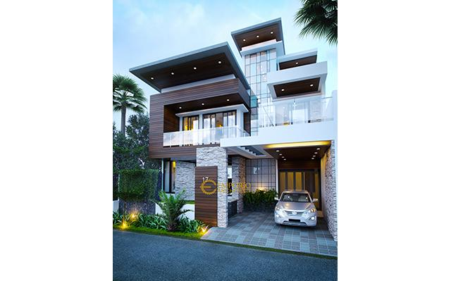 Mr. Andrika Modern House 2 Floors Design - Tangerang