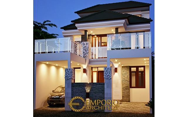 Desain Rumah Villa Bali 3 Lantai Bapak Abdilah di  Aceh