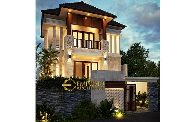 Desain Rumah Villa Bali 3 Lantai Bapak Ade di  Gianyar, Bali
