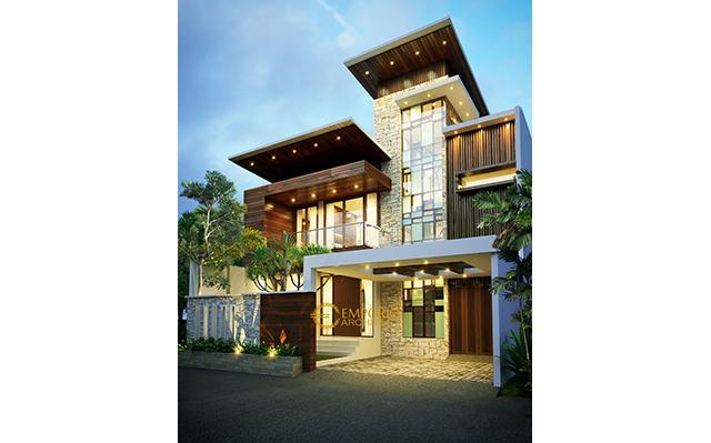 Mr. Adrian Modern House 3 Floors Design - Jakarta