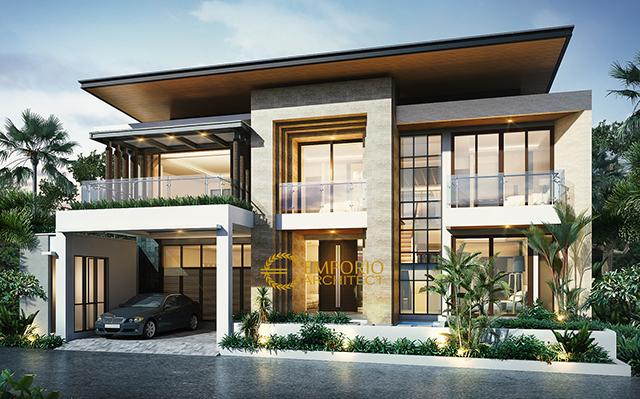 Mr. Ahdianto Modern House 2 Floors Design - Jakarta