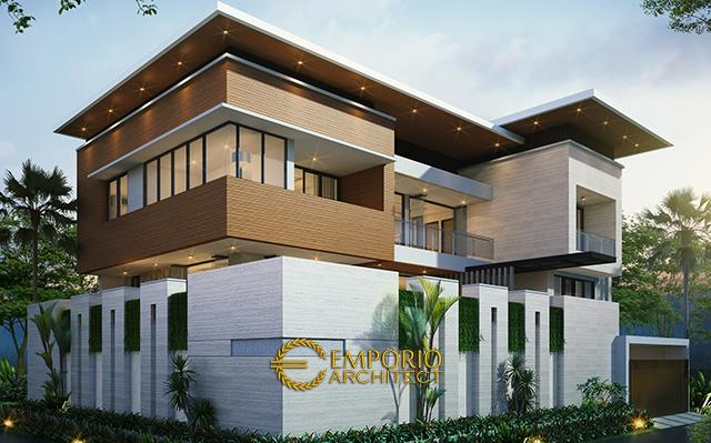 Mr. Alex Modern House 2 Floors Design II - Jakarta