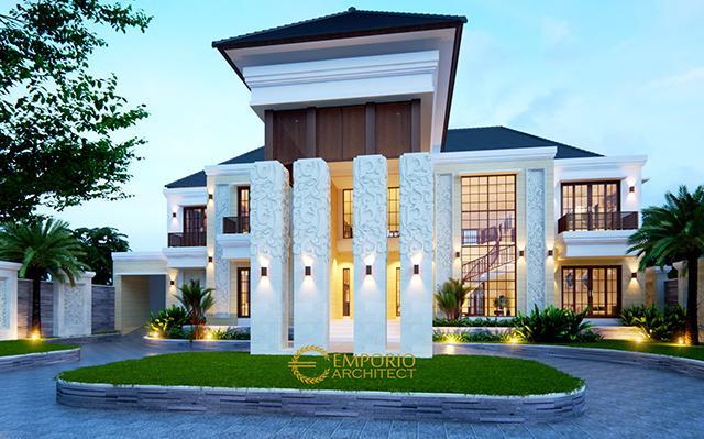 Mr. Andre Villa Bali House 2 Floors Design II - Medan, Sumatera Utara