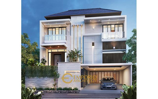Mr. Andre Modern House 2 Floors Design - Kelapa Gading, Jakarta