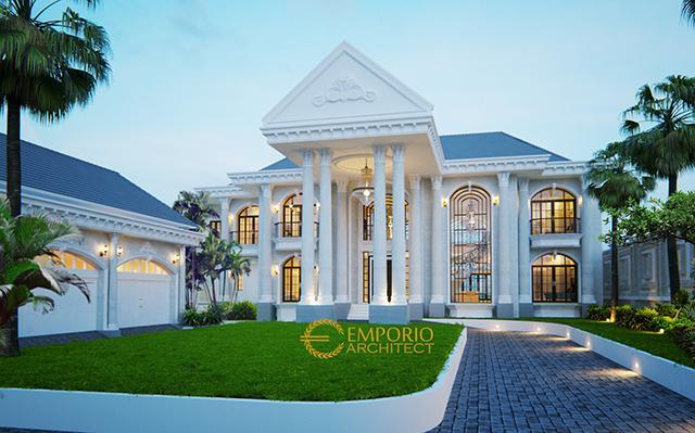 Mr. Andre Classic House 2 Floors Design - Medan, Sumatera Utara