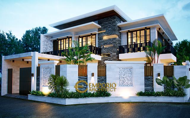 Mr. Andreas Modern House 2 Floors Design - Jakarta