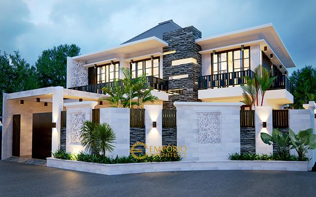 Mr. Andreas Modern House 2 Floors Design Type 2 - Jakarta