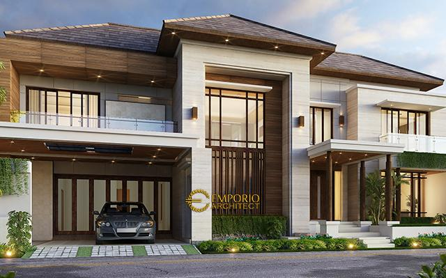 Mr. Anthon Modern House 2 Floors Design - Jakarta