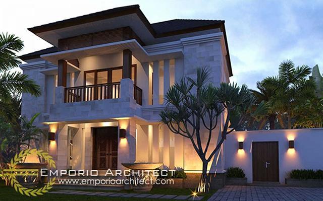 Desain Rumah Villa Bali 2 Lantai Bapak Apang di  Gianyar, Bali