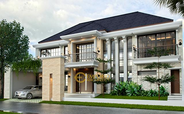 Mr. Ardi Classic House 2 Floors Design - Yogyakarta