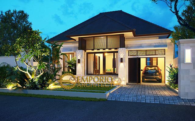 Desain Rumah Villa Bali 1 Lantai Bapak Cahyadi di  Denpasar, Bali