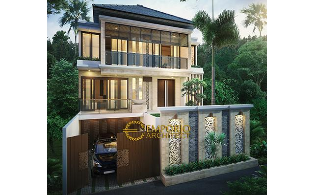 Mr. Didit Modern House 3 Floors Design - Jakarta
