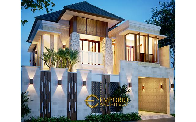 Mr. Donald Villa Bali House 2 Floors Design - Papua