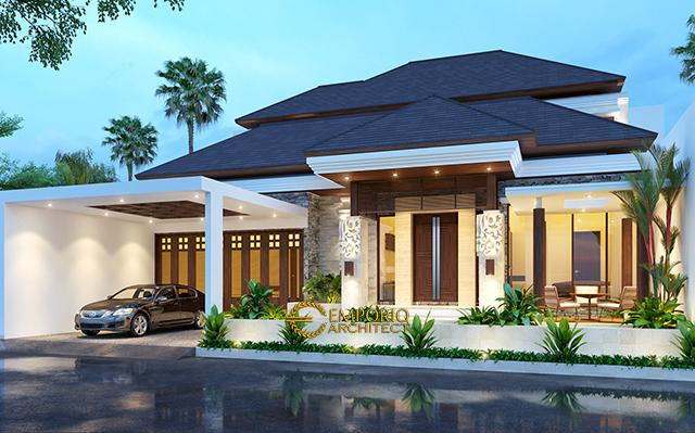 Mr. Doni Villa Bali House 1 Floors Design - Bogor