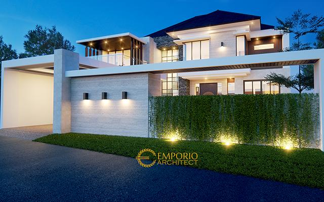 Mr. Edo Modern House 2 Floors Design - Lampung