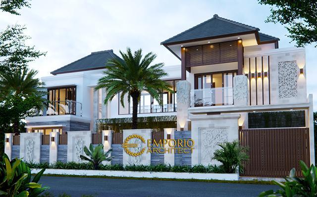 Desain Rumah Villa Bali 2 Lantai Bapak Erik di  Kendari, Sulawesi Tenggara