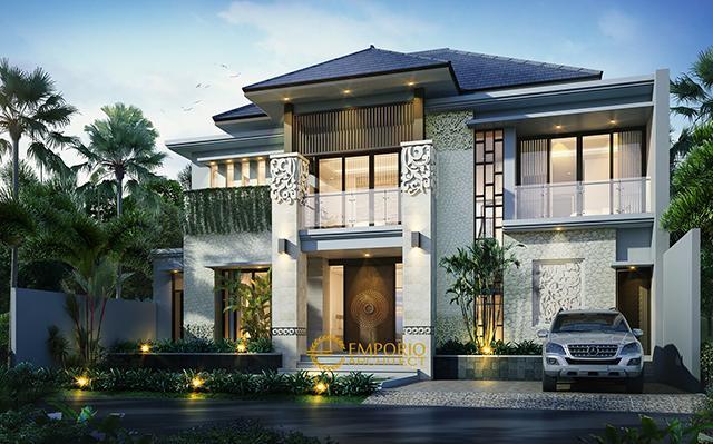 Mr. Faishal Villa Bali House 2 Floors Design - Bintaro, Jakarta Selatan