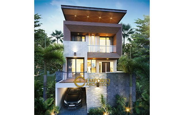 Mr. Harry Modern House 3 Floors Design - Malang, Jawa Timur