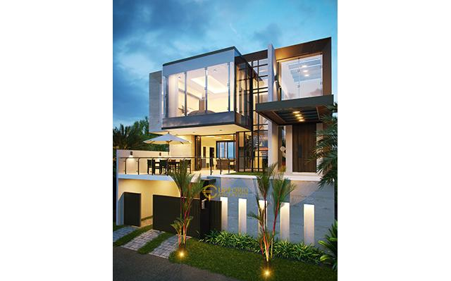 Mr. Ilham Modern House 3 Floors Design - Jakarta