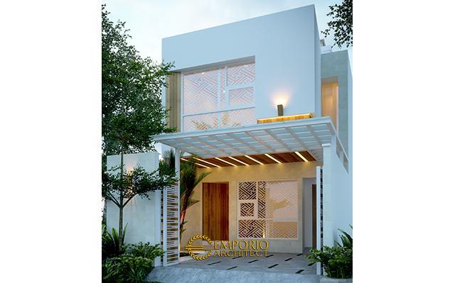 Desain Rumah Modern 2 Lantai Bapak Irianto di  Makassar, Sulawesi Selatan